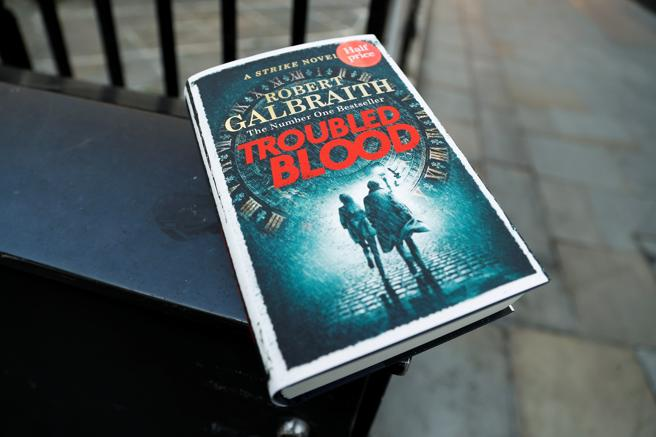 JK Rowling's latest book, 'Troubled Blood,' is out today