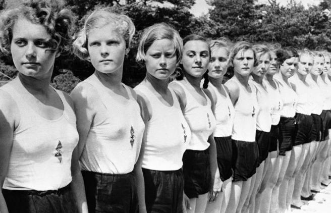 La Bund Deutscher Mádel (La Liga de Mujeres Alemanas)