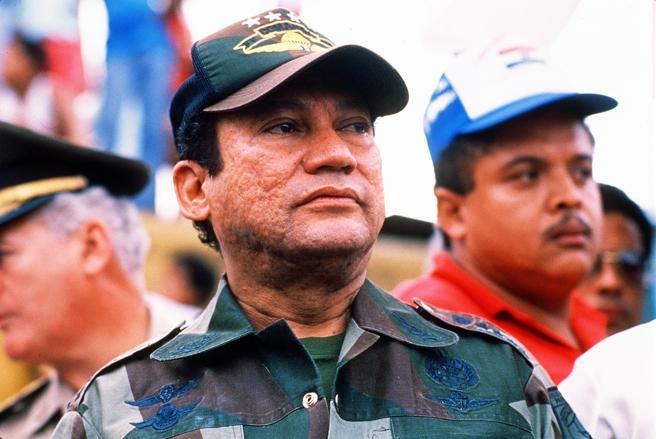 Manuel Antonio Noriega, dictador panameño y narcotraficante, en cuyo juicio en EEUU Carlos Lehder actuó como testigo de la fiscalía
