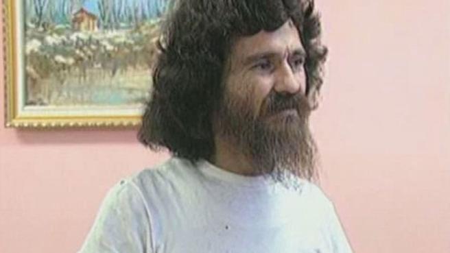 Dorancel Vargas, en un reportaje de televisión