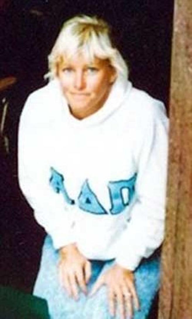 Dana Sue Gray, en su época de adolescente