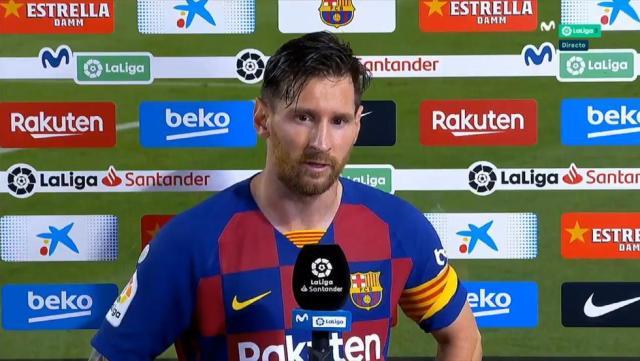 "Messi explota: ""No nos alcanzó ni para la Liga"""