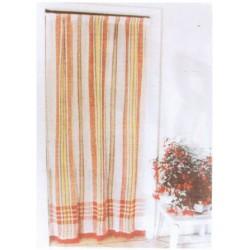 la vannerie d aujourd hui rideau de porte en coton motif marseillais