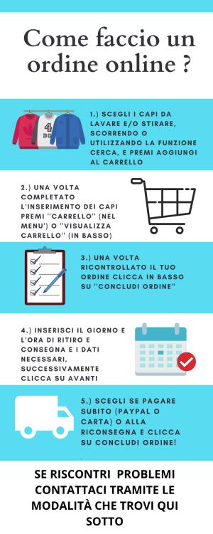lavanderia a domicilio Fiumicino