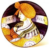 Piatto Iulia Bela - Museo delle Ceramiche di Faenza