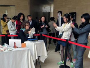 Laura Silvagni durante l'esibizione a Luoyang