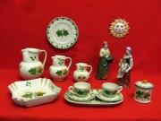 """Ceramiche di Faenza, decorazione a """"Foglia di vite"""""""