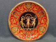 """Piatto """"le tre grazie"""", ceramica di Faenza"""