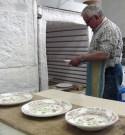 La ceramica è pronta per la cottura in forno