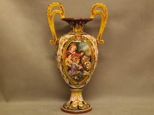 Anfora Raffaellesco, Ceramica di Faenza