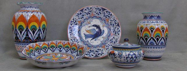 ceramiche assortite La Vecchia Faenza