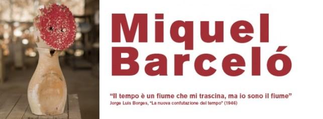 mostra Miquel Barceló al MIC di Faenza
