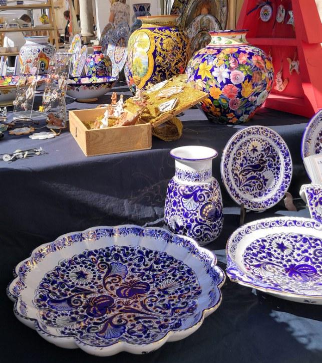 bancarella di La Vecchia Faenza alla mostra mercato Made in Italy 2020 a Faenza
