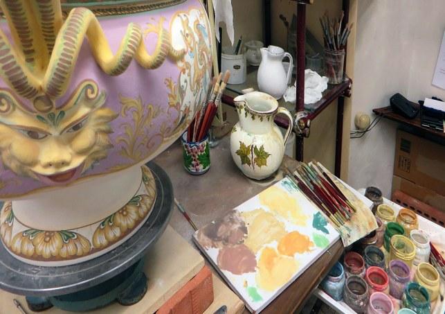 la decorazione di un vaso raffaellesco