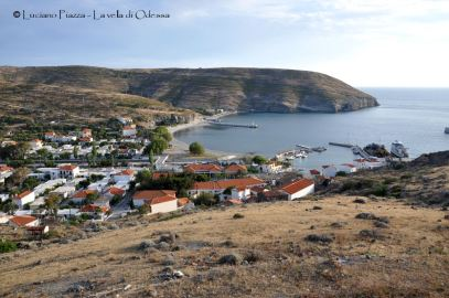 Grecia, Aghios Esfriatos, il porto.