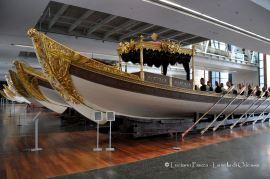 Turchia, Istanbul: Museo del mare: le imbarcazioni da passeggio dei sultani.