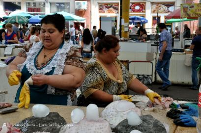 Ucraina, Odessa: il mercato.