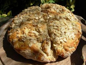 Oat Scone Bread