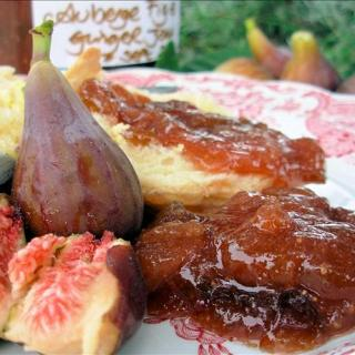 Fresh Fig and Ginger Jam