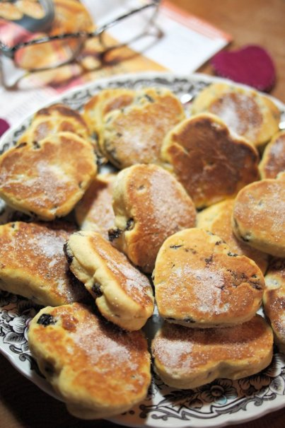 Baked with Love! Valentine's Day – Love is in the Air with Romantic Welsh Griddle Cakes for Tea Time Treats