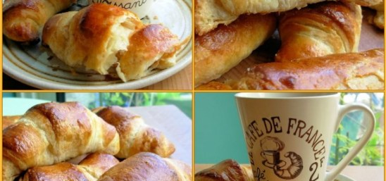 Fresh from the Oven March Challenge – Traditional Buttery French Croissants for Lazy Bistro Breakfasts