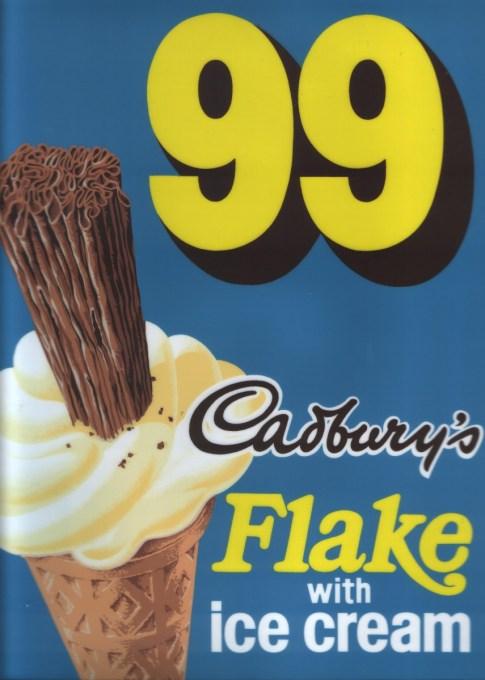 Cadburys 99 sticker