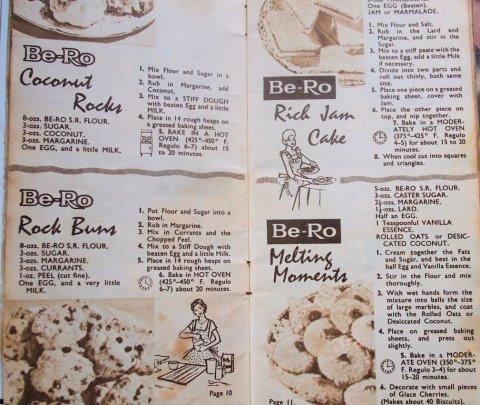 Retro Vintage Be Ro cookbook