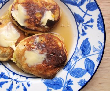 Dropped Scones (Scotch Pancakes or Griddle Cakes)