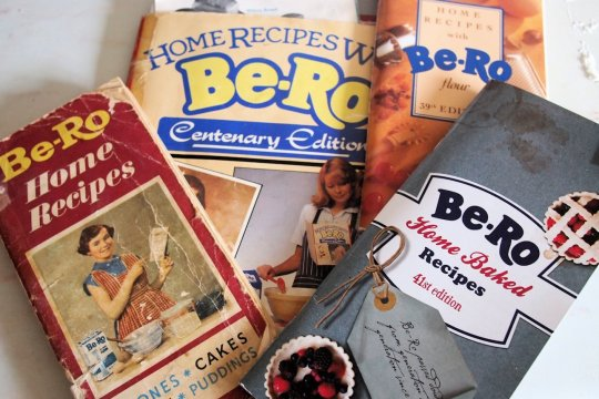 Be-Ro Cookbooks - Old and New