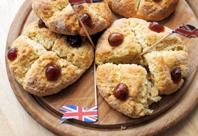 The Jubilee Baking starts here! Victoria Scones for a Jubilee Tea