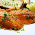 Grilled Kippers with Parsley and Butter
