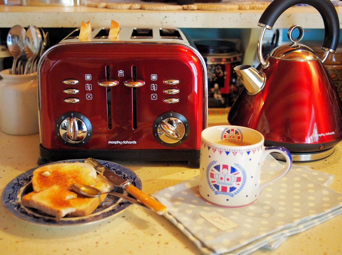 Honey and my Diamond Jubilee Breakfast
