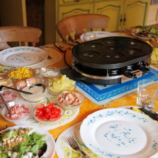 Raclette and Pancakes