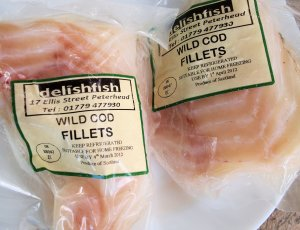 Delish Fish Wild Cod Fillets