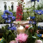 My finished Summer Garden Party Flower Arrangement