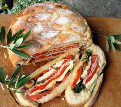 Pan Bagnat ~ A French Picnic Sandwich
