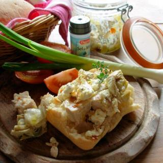 The Long French Lunch and Poulet Nomade ~ Nomad's Chicken (Herb Poached Chicken in a Jar)