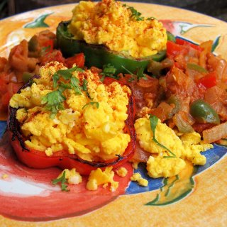 Mexican Breakfast Eggs - Two Ways