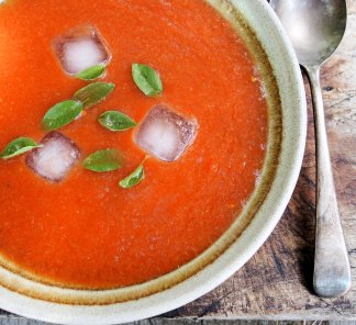 Roast Tomato and Garlic Soup for 5:2 Diet and WW