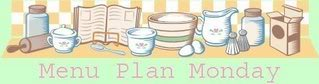 Meal Plan for Week beginning 24th September