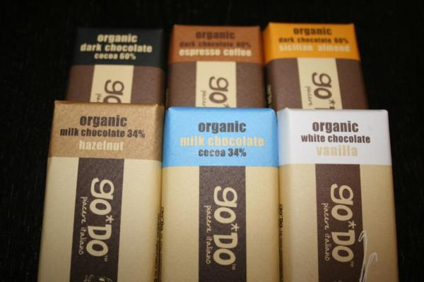GO*DO Organic Chocolate Bars