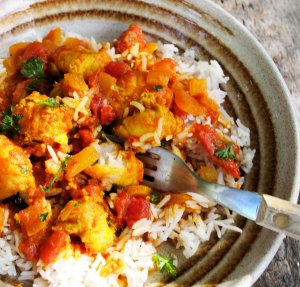 Easy Monkfish Curry