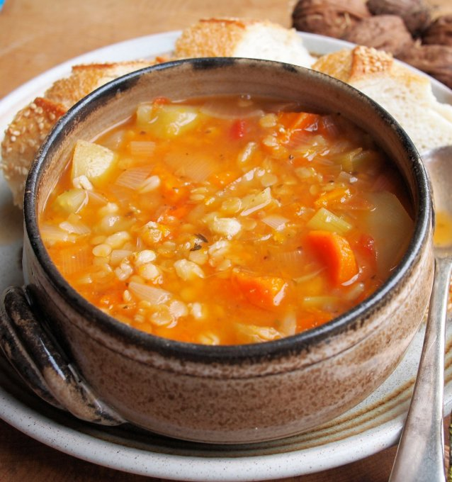 Meat-Free Scotch Broth (Low Calorie 5:2 Diet)