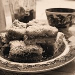 Sepia Saturday with Be-Ro, Tea Time Treats and Rich Jam and Coconut Cake