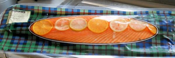 Delish Fish Honey Roast Salmon Side