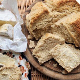 Rural Store Cupboard Supplies, Sepia Saturday and Milk Fadge: Emergency Bread (No Yeast) Recipe