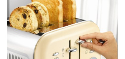 Giveaway: Win a Morphy Richards Kettle and Toaster Set worth £99:98!