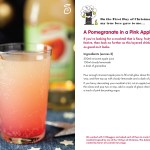 12 Days of Christmas Lavender and Lovage A Pomegranate in a Pink Apple Tree Mocktail