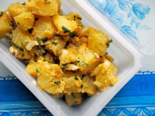 Coronation Potato Salad