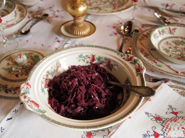 Spiced Red Cabbage with Apples Recipe